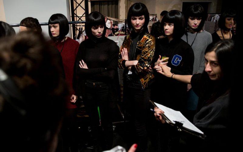 Lena-Hoschek-Models-Runway-Dollhouse