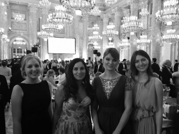 Spreadies in der Hofburg