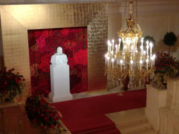 Flower Wall in der Hofburg