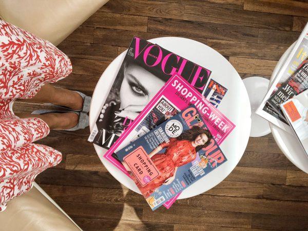 Magazine so weit das Auge reicht!