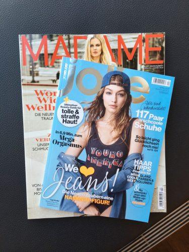 Die aktuelle MADAME und Jolie